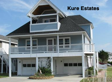 Kure Estates home on Kure Beach